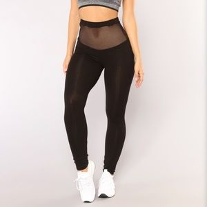 Fashion Nova Mesh Leggings